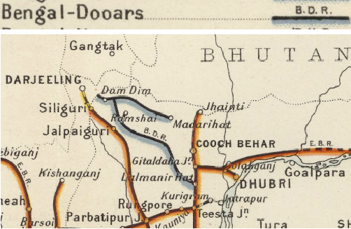 File:Bengal Dooars Railway Map 1909.png