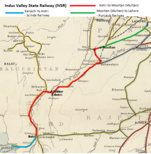 Indus Valley State Railway - Survey and Construction - FIBIwiki on krishna map, mekong map, india map, caucasus mountains map, south china sea map, himalayan mountains map, yellow sea map, huang he map, harappa map, danube river map, himalayas map, thar desert map, yellow river map, arabian sea map, sea of japan map, indian ocean map, hindu kush map, congo river map, gobi desert map, ganges map,