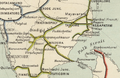 South Indian Railway Map 1909, south section.png