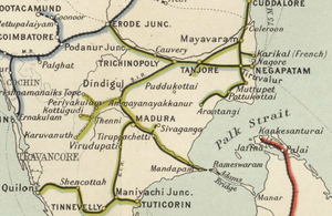Indian Railway Map Of India.South Indian Railway Fibiwiki