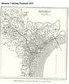 Benares Tramway Proposal 1907 Map.png
