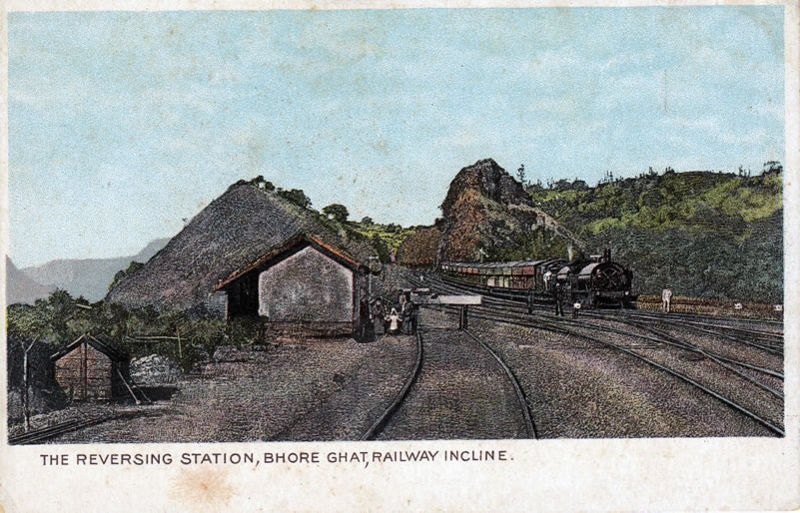 File:The Reversing Station Bhore Ghat Railway Incline.jpg