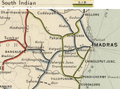 South Indian Railway Map 1909, north section.png