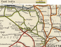 East Indian Railway Map 1909, east section.png