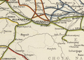 East Indian Railway Map 1909, mid section.png