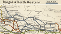 Bengal and North-Western Railway Railway Map 1909.png