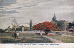 St Marks Church From Cubbon Park Bangalore.jpg